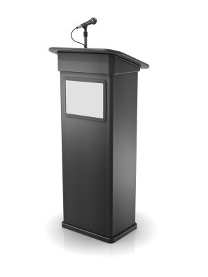 Podium Microphone used in Vancouver Hotels