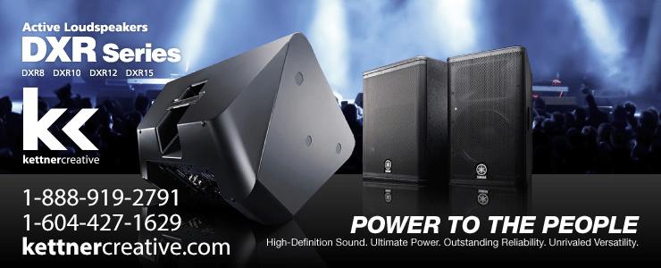 Yamaha DXR Speaker Rental
