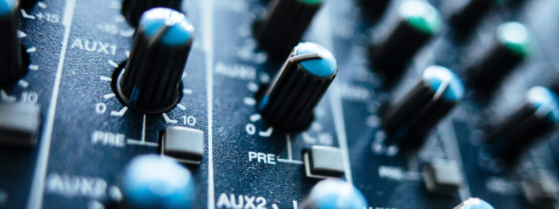 Audio Mixer and Sound Board