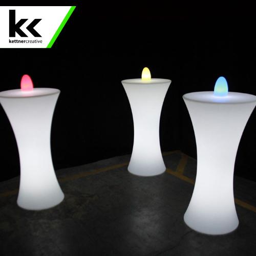 Hourglass LED Table Rental