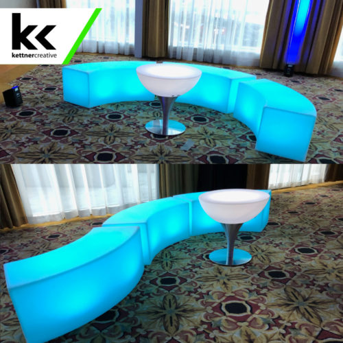 LED Lounge Furniture Rental