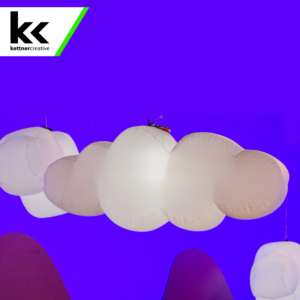 Inflatable Cloud Balloon Light