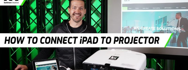 Connect iPad to Projector