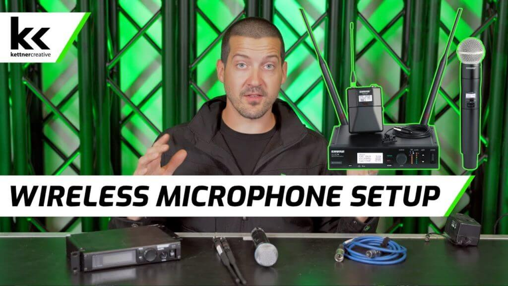 How To Setup A Wireless Microphone