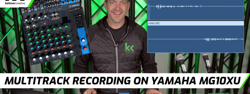 Multitrack Record Yamaha MG10XU